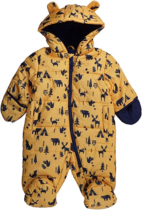 0f1a6b0fc8a0 Amazon.com  London Fog Baby Boys One-Piece Pram (Yellow Print