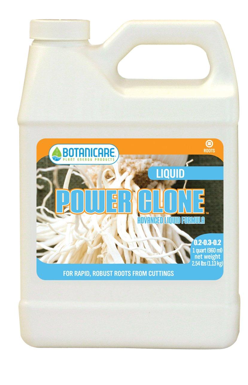 Botanicare POWER CLONE Advanced Liquid Formula Concentrate for Roots 2-3-2 Formula, 1-Quart (12-Pack)