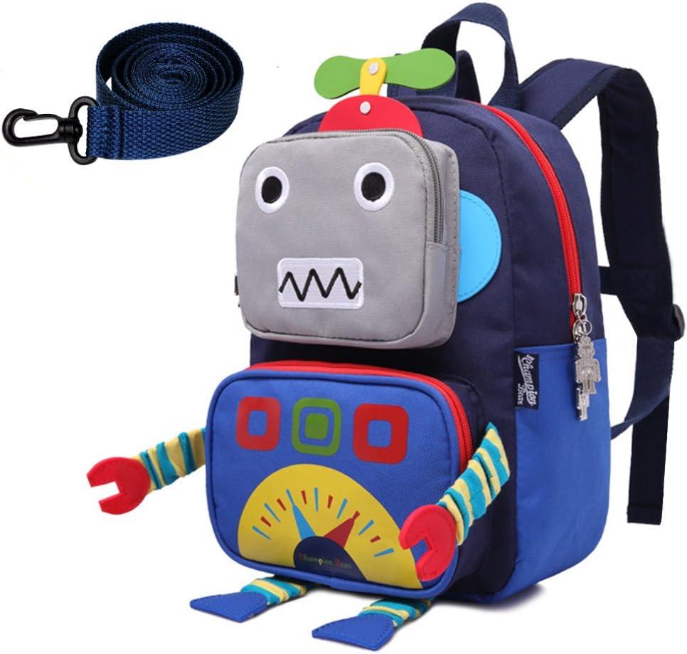 Sac /à Dos Enfant 3D Cartoon Robot Enfants Sacs /À Dos Enfants Maternelle Mignon /École Sacs Voyage Sac /À Dos en Plein Air Casual Daypack