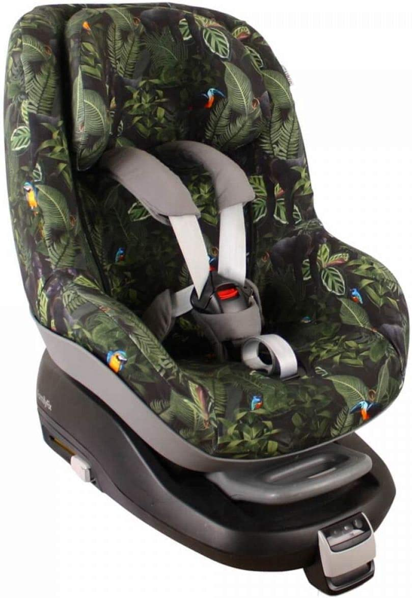 2Way Pearl up to 4 years Keep Your Baby Car Seat Clean Reduce Sweating and Keep Your Baby Warm Color Jungle UKJE Car Seat Covers in Cotton Oeko-Tex for Maxi-Cosi Pearl