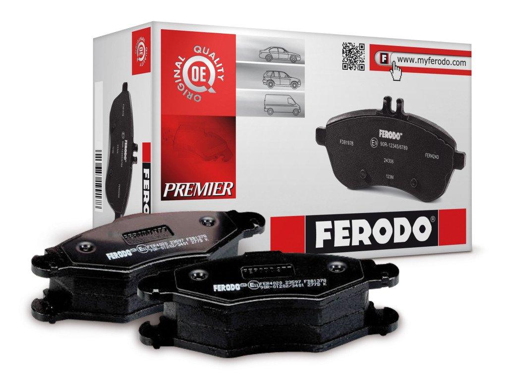 Ferodo FVR1771 PREMIER Bremsbelagsatz, Scheibenbremse - (4-teilig) - (4 Stü ck)