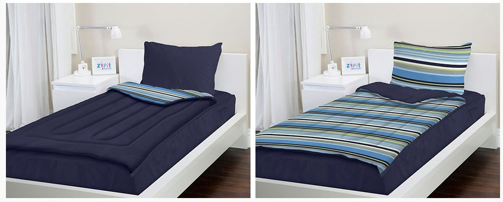 Zipit Bedding No More Messy Stuff On Your Bed Best Of