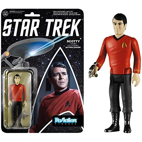 Star Trek Scotty ReAction 3 3/4-Inch Retro Action Figure by Star Trek