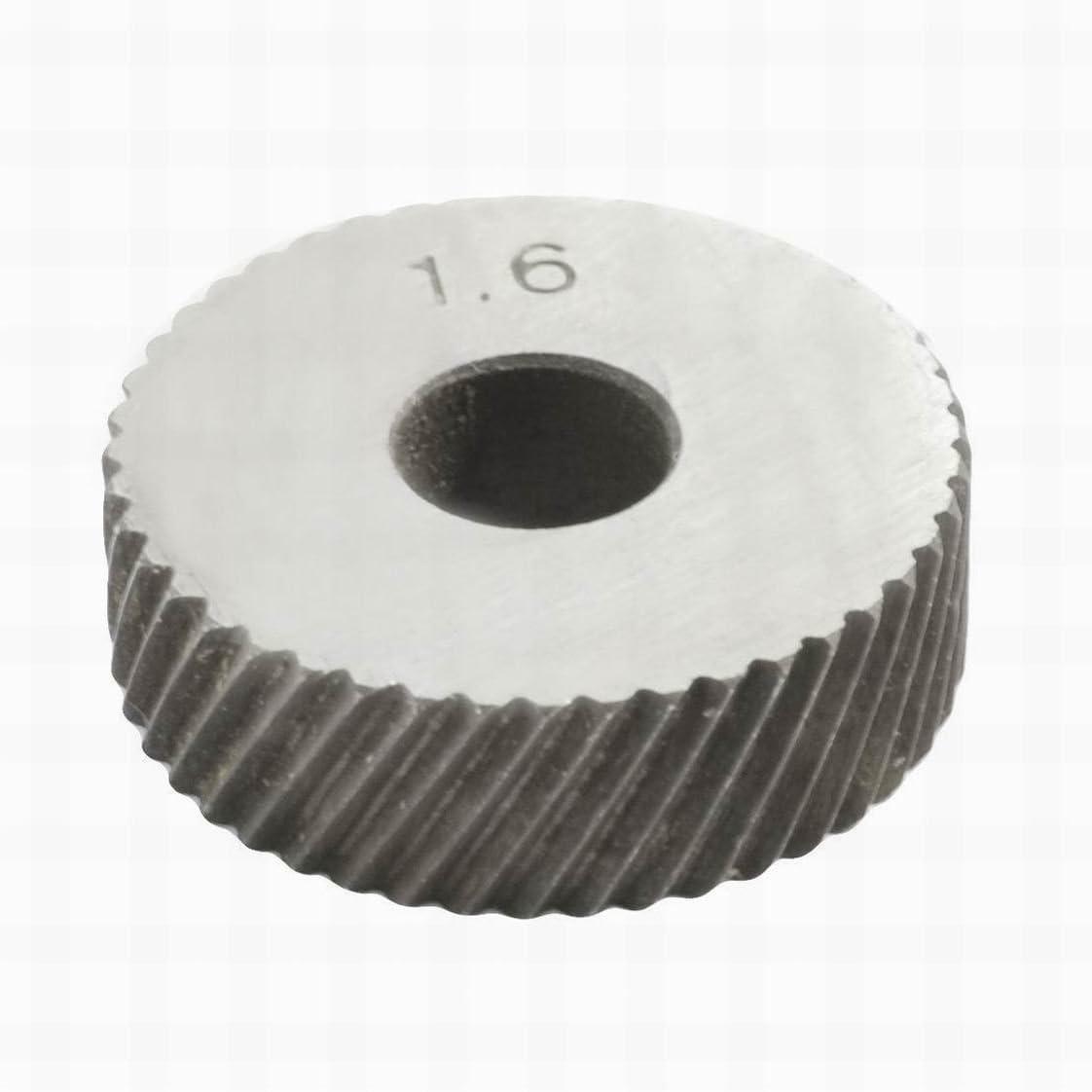Diagonal Coarse 1.6mm Pitch Linear Knurl Wheel Knurling Tool
