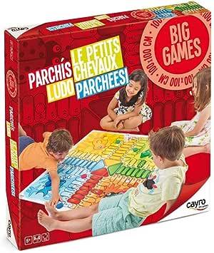 Cayro - Parchís Gigante - Juego de Mesa Infantil - parchís Infantil - Juego de cooperación Desarrollo de Habilidades visuales y lógico-matemáticas - Juego de Mesa (160): Amazon.es: Juguetes y juegos