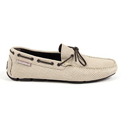 Andrew Charles Mens Loafer Beige Otto