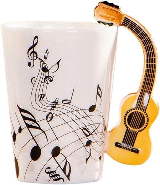 CADANIA Notas Musicales Diseño Cerámica Bebida Té Taza de café ...