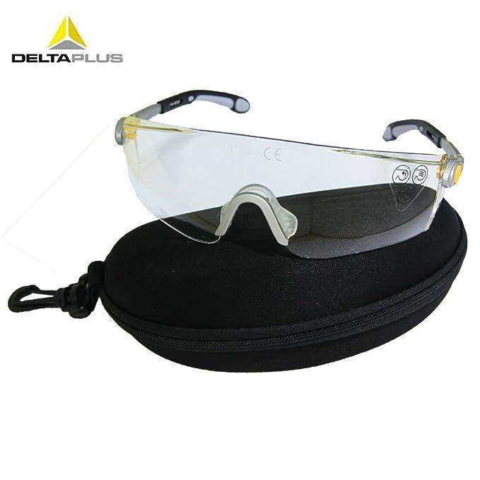 Delta Plus Venitex Lipari 2 Clear Protective Cycling Sunglasses Eyewear Glasses