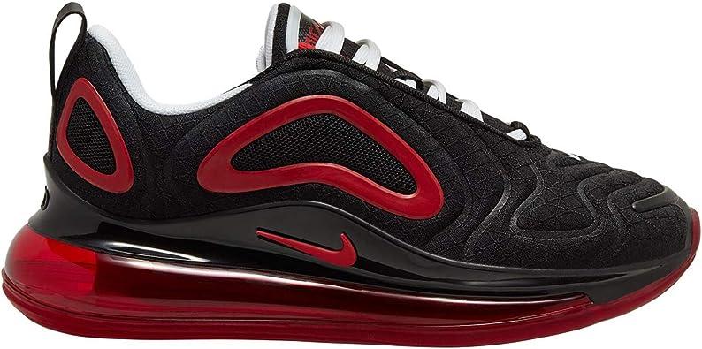 air max 720 negro y rojo
