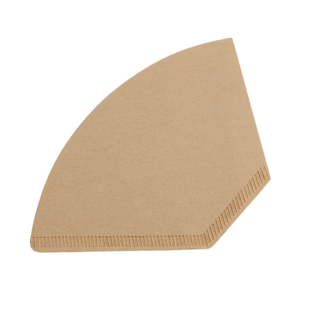 Highfive 100pcs Coffee Paper Filters Coffee Filter Unbleached-Brown