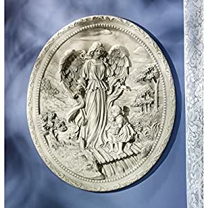 Design Toscano The Childrens Guardian Angel Wall Plaque