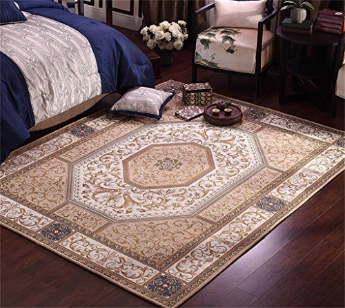 Royal-Chinese carpets Living room Side table Bedroom bedside blanket Continental carpets American country 200x140CM