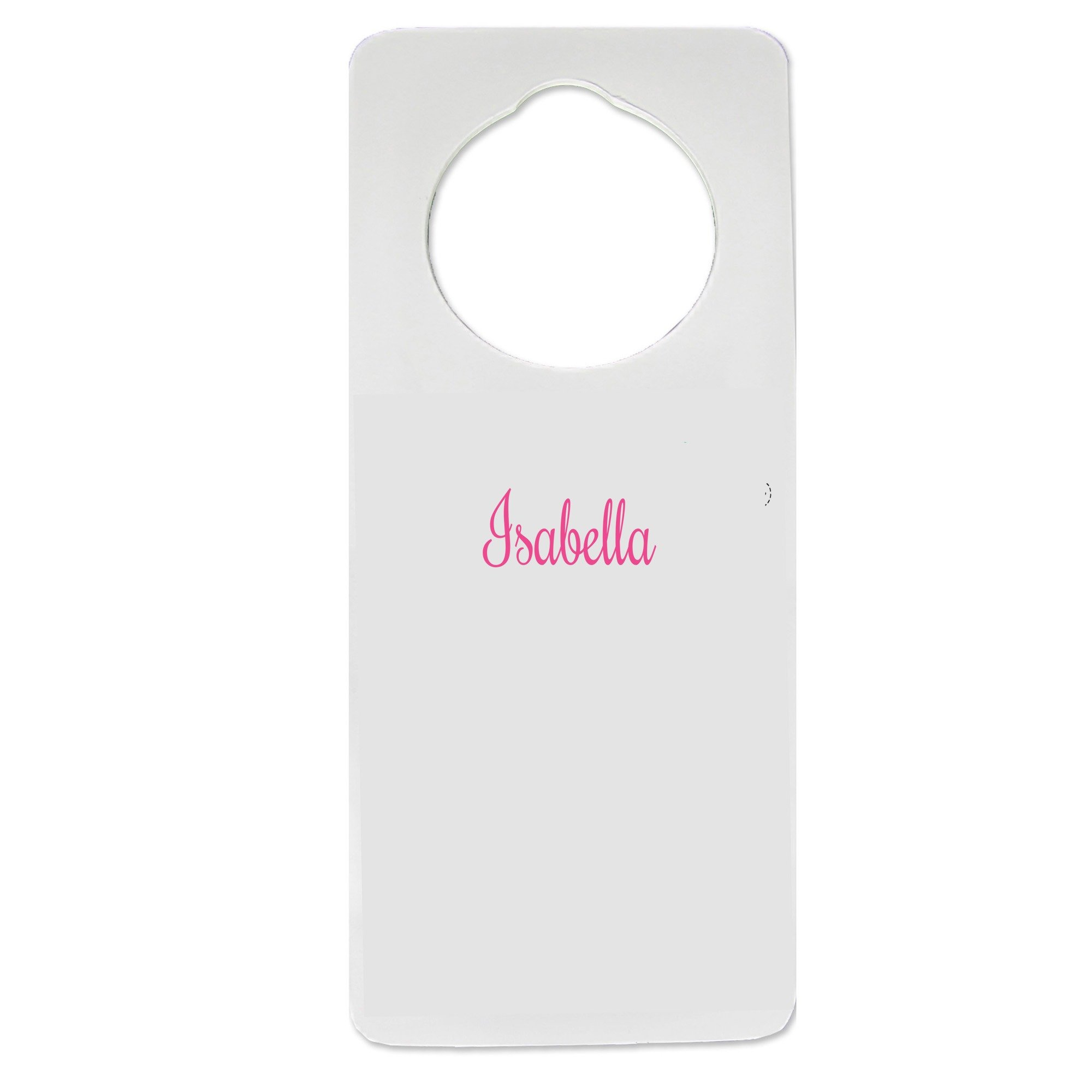 Personalized Girls with Name only Nursery Door Hanger