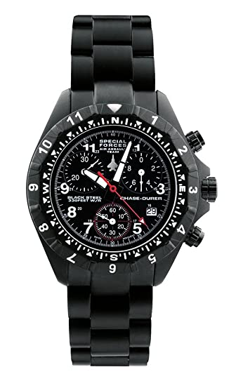 Amazon.com: Chase-Durer Mens 146.4BB4-BR12 Special Forces Air Assault Team Watch: Chase-Durer: Watches
