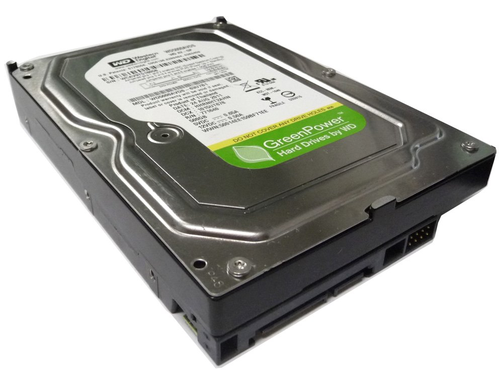 Western Digital WD AV-GP 500GB 32MB Cache SATA 3.0Gb/s 3.5inch (CCTV DVR, PC) Internal Hard Drive (Low power, Quiet) -w/1 Year Warranty