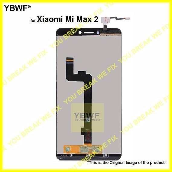 YBWF for Xiaomi Mi Max 2 White LCD Display & Touch: Amazon