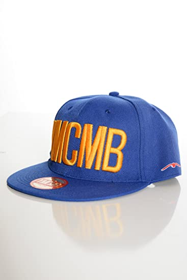 acheter populaire add44 6c7bc YMCMB - Casquette YMCMB Snapback Bleu-Taille - T.U: Amazon ...