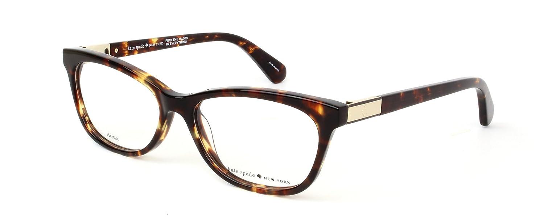 356dff791721 Kate Spade AMELINDA Eyeglasses 0086 Dark Havana 52-15-140: Amazon.co.uk:  Shoes & Bags