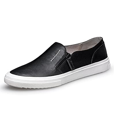 Boy's Men's Zip Solid Soft Sole Spring/Summer Loafers