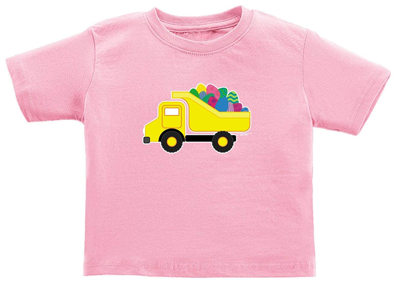 Baby Gifts For All Easter Apparel Easter Eggs Dump Truck Toddler Juvy T-Shirt