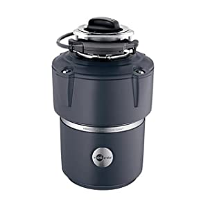 InSinkErator PROCCPLUSCORD Pro Series 3/4 HP Food Waste Disposal with CoverStart and Evolution Series Technology, Powercord included