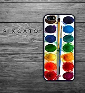 Super Watercolor Set and Brushes Hard Plastic Case for Iphone 5S