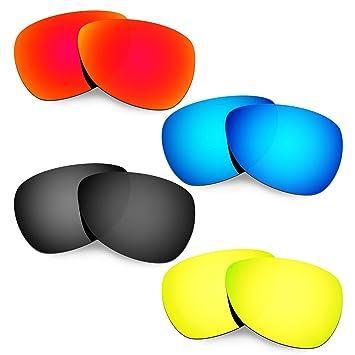 HKUCO Plus Mens Replacement Lenses For Oakley Felon - 4 pair MAENbzr