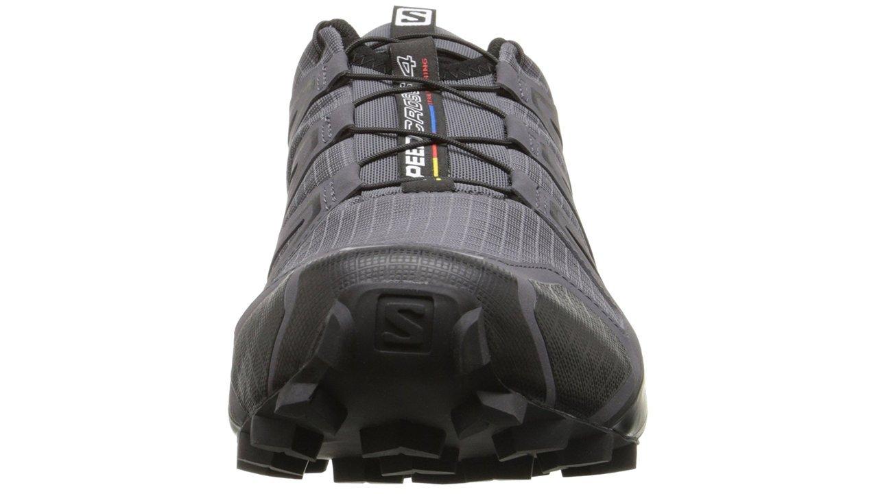 Salomon Men's Speedcross 4 Trail Runner, Dark Cloud, 7 M US by Salomon (Image #8)