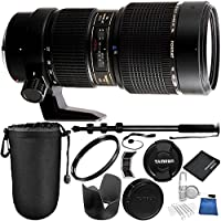Tamron 70-200mm f/2.8 Di LD (IF) Macro AF Lens for Nikon Bundle with Manufacturer Accessories & Accessory Kit (18 Items)
