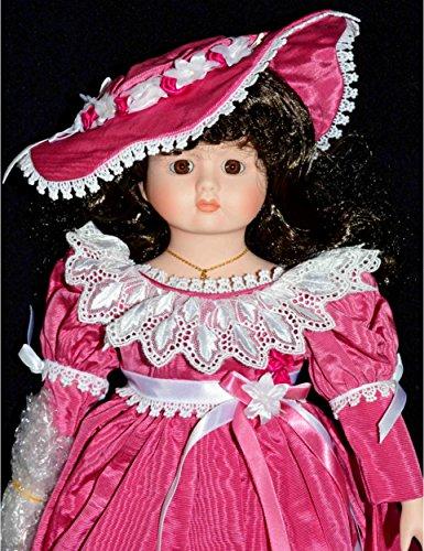 (Betty Jane Carter Doll - Goebel Porcelain Musical Doll Valarie Bette Ball 18