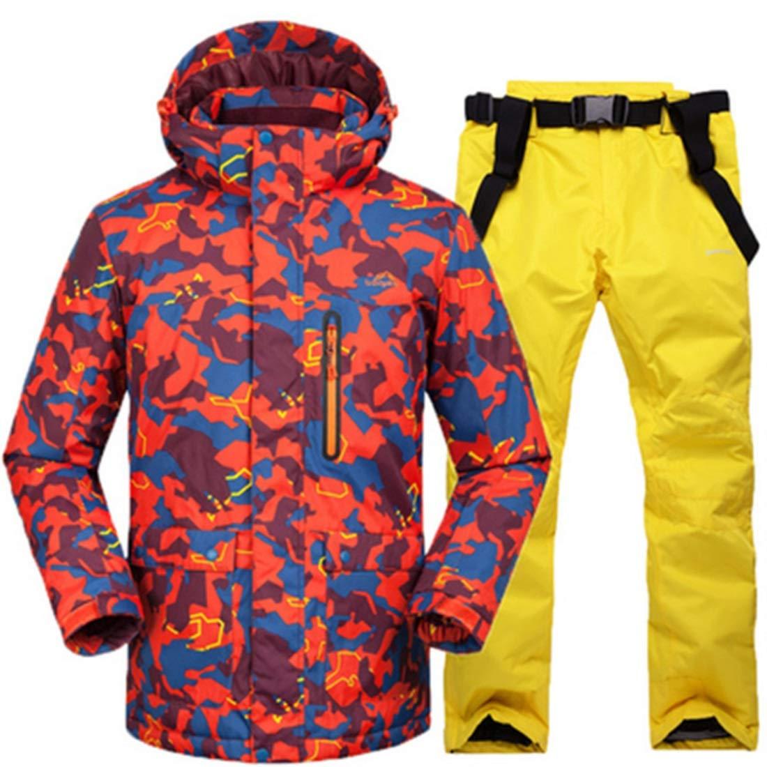 Igspfbjn Igspfbjn Igspfbjn Outdoor Snowsuit Uomo Inverno Giacca da Sci e Pantaloni Set Completo da Sci (Coloree   03, Dimensione   XXXL)B07KQ55FTNXXL 03 | A Buon Mercato  | Outlet Online  | On-line  | Prima Consumatori  | Stile elegante  | Outlet Online Store  b2bd50