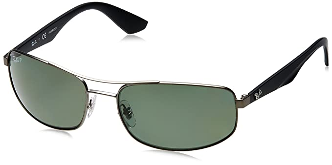 dfcc142305d Amazon.com  Ray-Ban Metal Man Sunglasses RB3527 029 9A - Matte ...