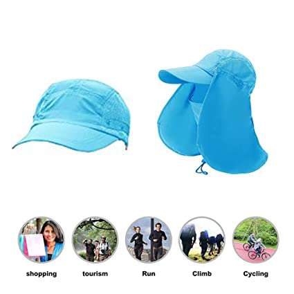a62a9a685546f Amazon.com   RAIN QUEEN Fishing Hat