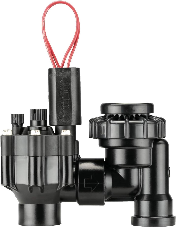 """Hunter Industries RTL1002PGV075ASV Hunter 3/4"""" PGV-ASV Anti-Siphon Irrigation Valve, Black : Garden & Outdoor"""