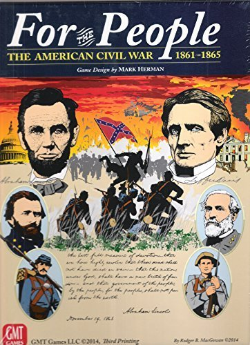 GMT: For the People II, the American Civil War 1861-1865, Board Game 3rd Edition (Best Civil War Board Games)
