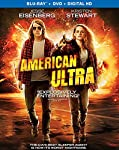 Cover Image for 'American Ultra [Blu-ray + DVD + Digital HD]'