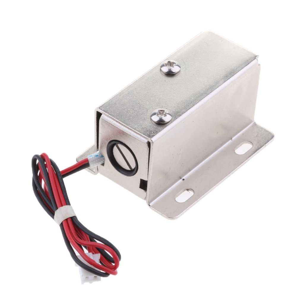MagiDeal Universal 12V 0.4A Mini Electric Magnetic Electromagnetic Lock Door Gate Access Entry Control by Unknown (Image #5)
