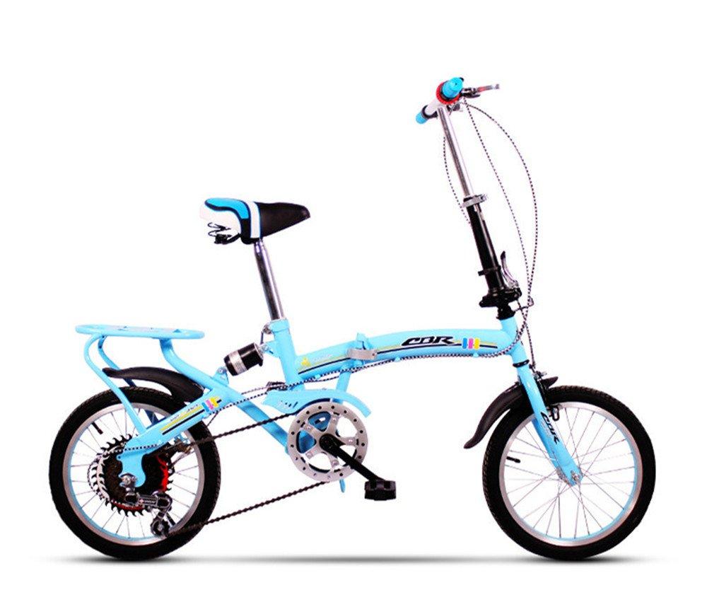 折りたたみ自転車 折り畳み 16インチ 20インチ 変速自転車 単速  変速 通勤 通学 小型 小径 簡単収納 B07BTYBJQ9 16インチ変速|E E 16インチ変速