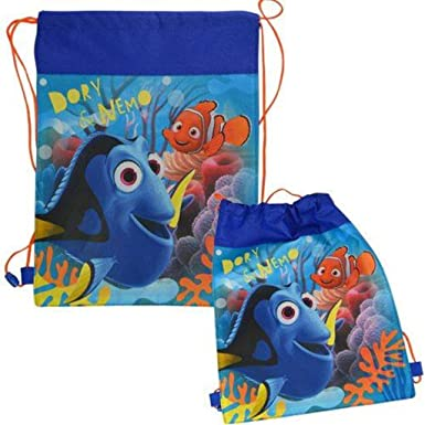 Amazon.com: Disney Finding Dory Sling Drawstring Bags for kids ...