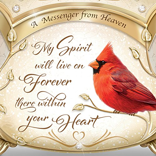 James Hautman A Messenger From Heaven Cardinal Music Box with 22K Gold Accents by The Bradford Exchange by Bradford Exchange (Image #2)