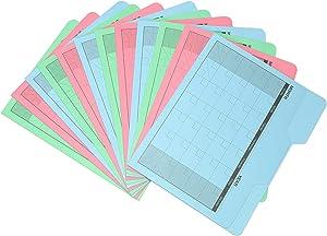 Find It Calendar File Folder, 12 Pack, Assorted Colors (FT07614)
