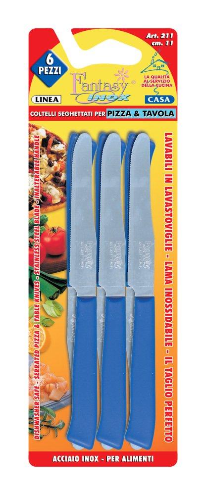 Compra Coltellerie Paolucci 070438 - Pack de 6 cuchillos de mesa ...