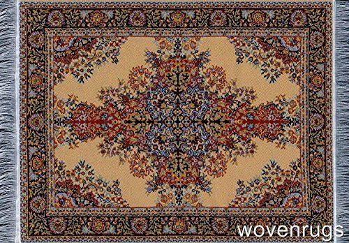 Top Oriental Woven Rug Mouse Pad - Turkish Style Carpet Mousemat – Great Gift