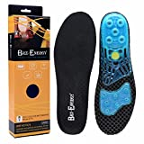 Gel Insoles High-Impact Cushioning Shock Absorbing Full Length Insoles for Male and Female