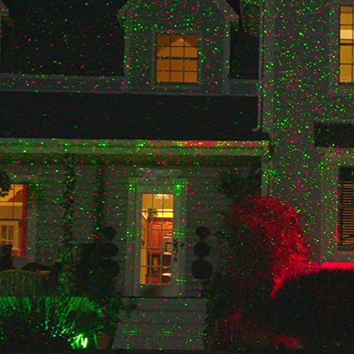 Amazon.com: Star Night Laser Shower Christmas Lights (Red/Green Dancing  Lights): Home & Kitchen - Amazon.com: Star Night Laser Shower Christmas Lights (Red/Green