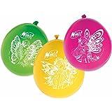 12 palloncini in lattice Winx per feste a tema