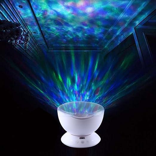 ParaCity Ocean Wave proyector noche luz Multi Color luz proyector ...