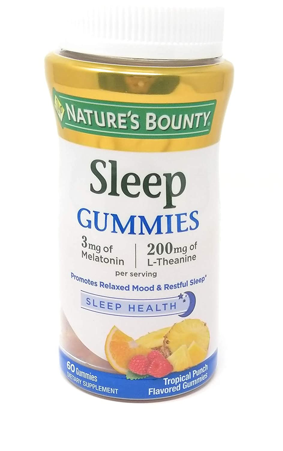 Amazon.com: De la Naturaleza Bounty Dormir Complex 3 mg ...