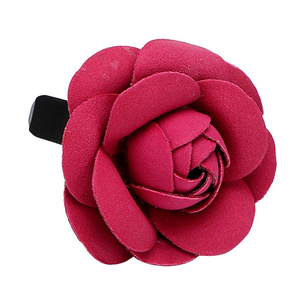 NOPNOG Dé sodorisant pour voiture Parfum fleur Dé coration Grille d'aé ration de voiture Ornement Rouge