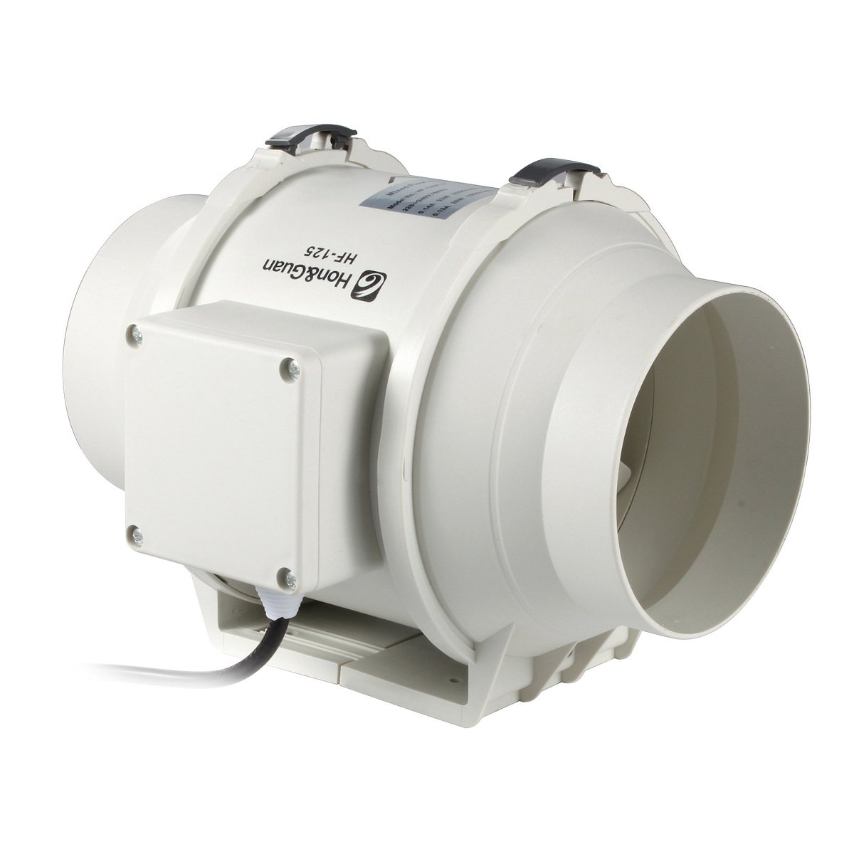 HG POWER Mixed Flow Inline Duct Fan HF-P Series (5 Inches)
